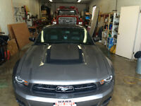 2012 Ford Mustang Grey Coupe (2 door)