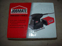Jobmate electric sander new in box with dust collecter