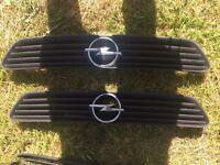 Vauxhall Opel Astra g GSI mk4 genuine Opel blitz grills
