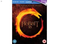The Hobbit Trilogy 3D Blu-ray & Blu-ray