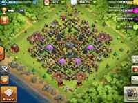 Clash of Clans Account with 1.5 Bil Gold Grab