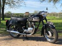 Triumph T100 Bath Tub 1960 500cc Matchings Numbers! Classic British Motorcycle!
