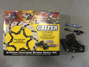 YZ250 galfer 270mm, torc 1 brake lever, chain guide