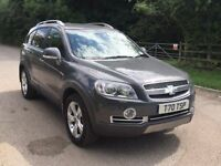 Chevrolet Captiva LTZ fully loaded leather+satnav+Rev camera 7 seat