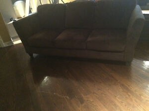 Couch and armchair excellent condition West Island Greater Montréal image 1