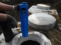 Nettoyage de préfiltre pour fosse septique