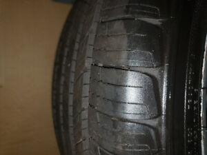 225 50 17 aluminum alloy rims with Michelin tires  $1000.00