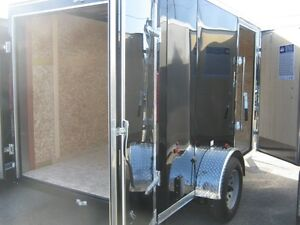 "6 x 10 + 18"" VNOSE ENCLOSED TRAILER / REAR DOORS Oakville / Halton Region Toronto (GTA) image 6"