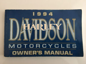 1994 Dyna Harley Owners Manual
