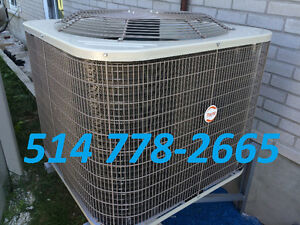 AIR CONDITIONERS OR HEAT PUMPS. CENTRAL AND WALL UNITS AVAILABLE West Island Greater Montréal image 5