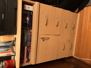 Small cabinet solid wood