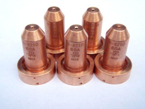 (100pcs)20 x 5 Original Thermal Dynamics 9-8210 Nozzles for SL60/SL100 Plasma.