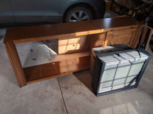 Free- Tv and cabinet