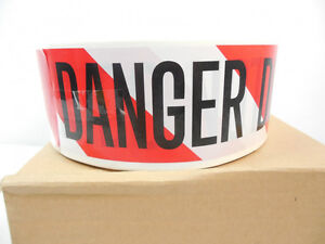 "Roll of ""DANGER DO NOT ENTER"" Warning Tape"