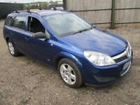 2007 Vauxhall Astra H Estate 1.6 16v Club Blue Petrol Manual Workhorse
