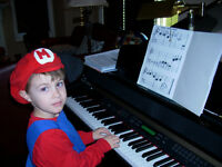Summer Piano Lessons for Children