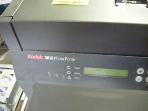 Kodak 8810 Photo Printer r w/ Windows Drivers and PC minilab