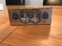 Rowntrees commemorative coronation souvenir tin 1937