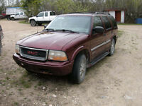 2000 GMC Jimmy SUV SLT