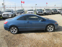 2008 Honda Civic EX-L Coupe WHERE EVERYBODY IS APPROVED !!