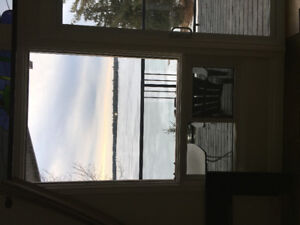 large window for sale - two to sell