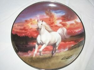 The Diamond Unicorn Series Collector Plates By The Franklin Mint Gatineau Ottawa / Gatineau Area image 7