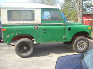Looking for parts for land rover series III