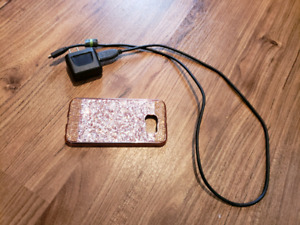 Case and charger for Samsung S6