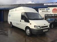 2005 Ford Transit 2.4TDCi 137PS 350 Jumbo van 6 speed motor cross van or camper?