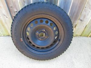 General Altimax Arctic winter tires with rims