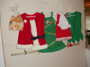 CHILD'S CHRISTMAS COSTUME COLLECTION  -$40