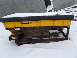 snowex SP 8000 salter with 3 spinners