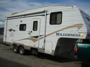 24.5 Foot Wilderness 5th Wheel with Slide