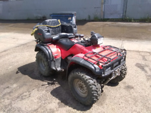 Honda Foreman 2003 w ramps and extra set of tires