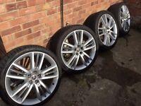 "Jaguar XF selena 20"" alloy wheels"