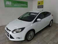WHITE FORD FOCUS 1.0 ZETEC NAVIGATOR ***FROM £177 PER MONTH***