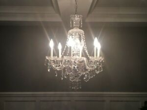 Timeless Schonbek Chandalier with Swarovski Crystal
