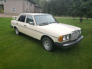 1984 Mercedes 300D Turbo Diesel RWD
