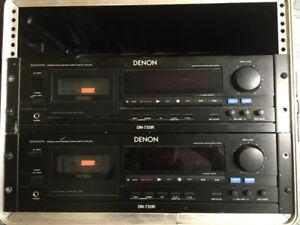 DENON DN 720 R precision audio cassette tape deck