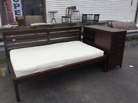 Pier bed by Hooker furniture new$3200 - now $500