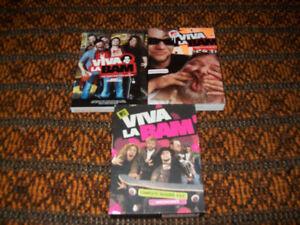 M TV Viva LA Bam season 1-5 dvd set  Complete series