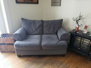 Matching Sofa Bed and Love Seat