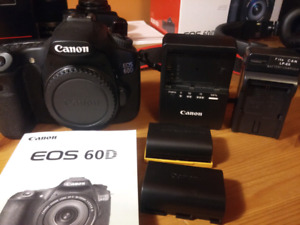 Canon 60D camera body