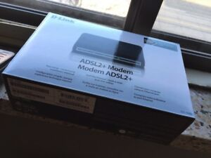 ADSL modem new and one used