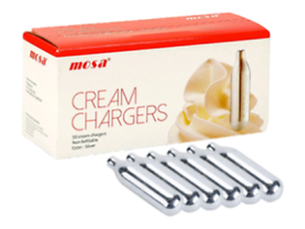 £12.50 Cream Chargers £12.50