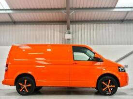 VW VOLKSWAGEN TRANSPORTER 140PS SWB T32 140 BHP HIGHLINE WHEELS AIR CON ORANGE