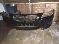 BMW 5 series front bunper