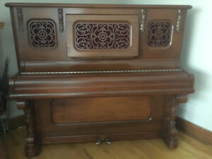 Evans Brothers Upright Piano