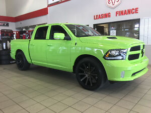 *CUSTOM* GREEN BRAND NEW TRUCK RAM 1500 CREW CAB 4X4