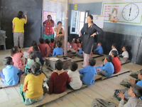 Sustainable agriculture and creative teaching in India